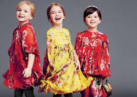 Детская одежда Dolce & Gabbana осень-зима 2014-2015