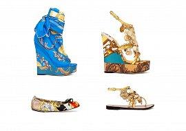 Обувь на платформе весна лето осень