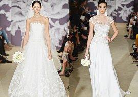 Свадебные платья Carolina Herrera весна 2015