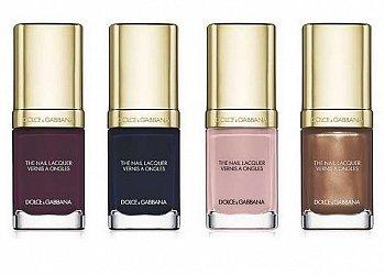 Коллекцией лаков для ногтей Dolce & Gabbana Nail Lacquer Collection 2015