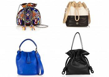 Сумка-мешок - модный тренд сезона