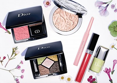 Коллекция макияжа Dior Glowing Gardens весна 2016