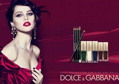 Коллекция макияжа Dolce & Gabbana Kohl Makeup Collectio весна 2012