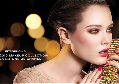 Новогодний макияж от Chanel