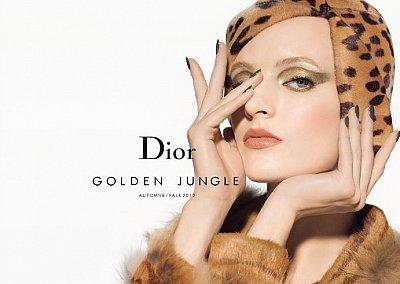 Осенняя коллекция макияжа Dior Golden Jungle