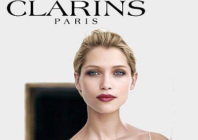 Коллекцией макияжа Clarins Rouge Eclat