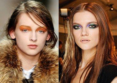 Яркие тени - beauty-тренд сезона