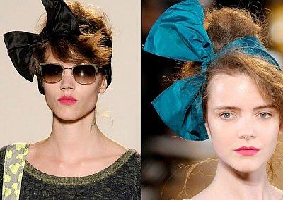 Бант - модный аксессуар для волос