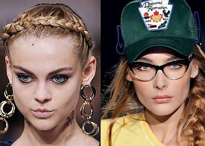 Коса - модный тренд весенне-летнего сезона 2010