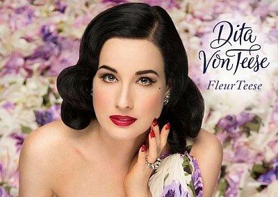 Fleur Teese - новый аромат от Диты Фон Тиз