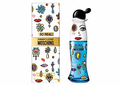 Новинка от Moschino: аромат Real Cheap & Chic
