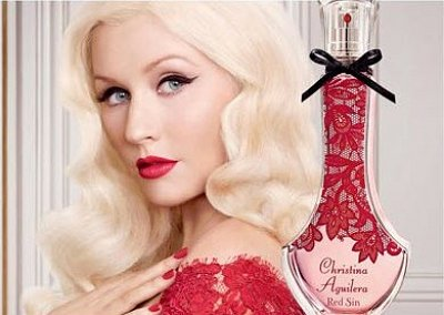 Red Sin - новый аромат от Christina Aguilera