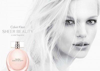 Sheer Beauty - новый аромат от Calvin Klein