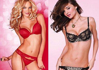 Нижнее белье Victoria's Secret ко Дню Святого Валентина