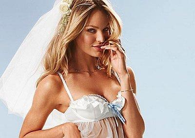 Свадебное нижнее белье Victoria's Secret 2011