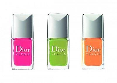 Модные лаки для ногтей Dior Vernis Cruise 2013