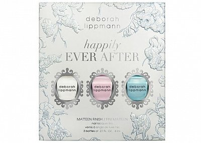 Набор лаков для свадебного маникюра Deborah Lippmann