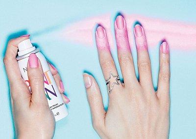 Первый лак для ногтей в виде аэрозоля Nails Inc Paint Can