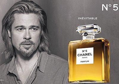Брэд Питт в рекламе Chanel №5
