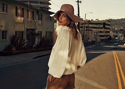 Дарья Вербова в рекламной кампании H&M весна-лето 2015
