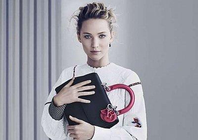 Дженнифер Лоуренс в рекламной кампании сумок Be Dior весна 2015