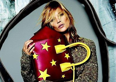 Кейт Мосс в рекламной кампании Stella McCartney осень-зима 2014-2015