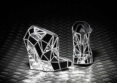 Невидимые туфли от Аndreia Сhaves