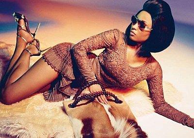 Ники Минаж в рекламной кампании Roberto Cavalli весна-лето 2015