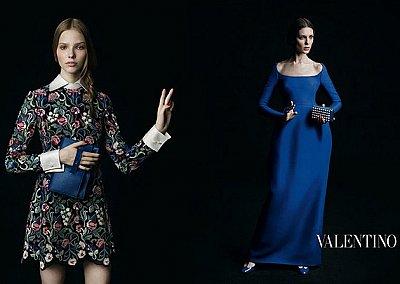 Осенне-зимняя рекламная кампания Valentino