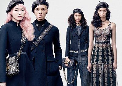 Рекламная кампания Dior осень-зима 2017-2018