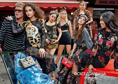 Рекламная кампания Dolce & Gabbana осень-зима 2017-2018