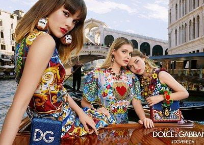 Рекламная кампания Dolce & Gabbana весна-лето 2018