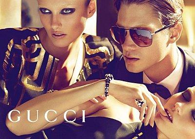 Рекламная кампания Gucci весна-лето 2012