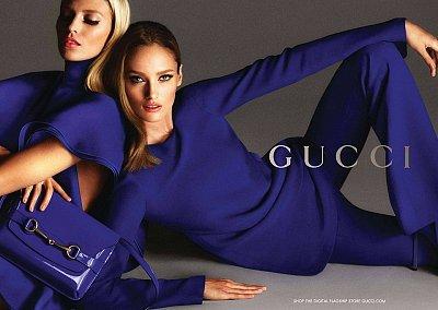 Рекламная кампания Gucci весна-лето 2013