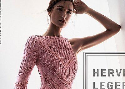 Рекламная кампания Herve Leger весна-лето 2016