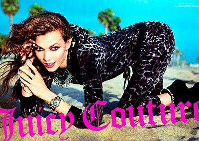 Рекламная кампания Juicy Couture осень-зима 2012-2013