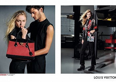 Рекламная кампания Louis Vuitton осень-зима 2017-2018