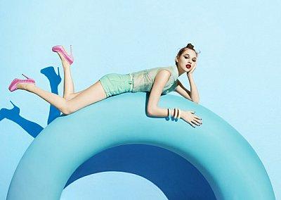 Рекламная кампания обуви Aldo весна-лето 2012