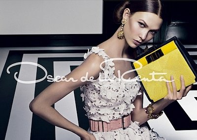 Рекламная кампания Oscar de la Renta весна-лето 2012