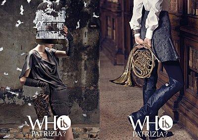 Рекламная кампания Patrizia Pepe осень-зима 2010-11