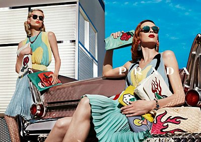 Рекламная кампания Prada весна-лето 2012
