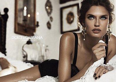 Рекламная кампания ювелирной коллекции Dolce & Gabbana