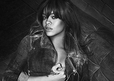 Rihanna в рекламной кампании Emporio Armani весна-лето 2012
