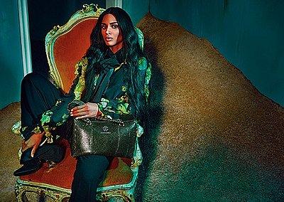 Сиара в рекламной кампании Roberto Cavalli осень-зима 2015-2016