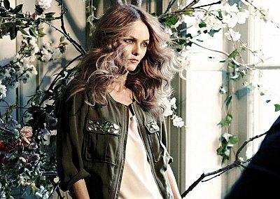 Ванесса Паради в рекламной кампании H&M