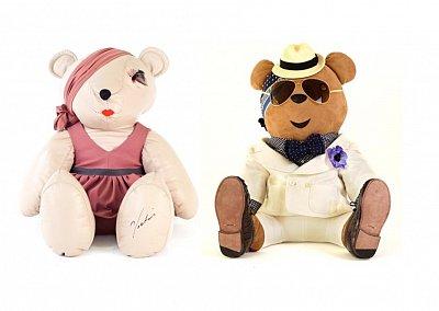 Коллекция дизайнерских плюшевых медведей Pudsey