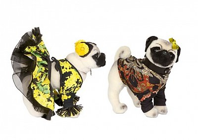 Коллекция плюшевых собачек от знаменитых дизайнеров