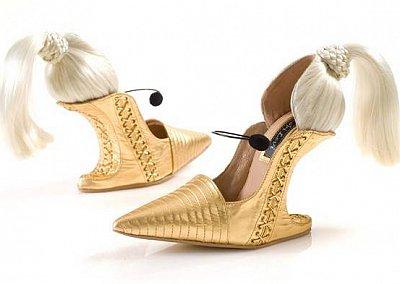 Необычная обувь от Коби Леви