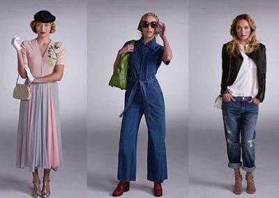 Видео дня: 100 лет моды за 2 минуты
