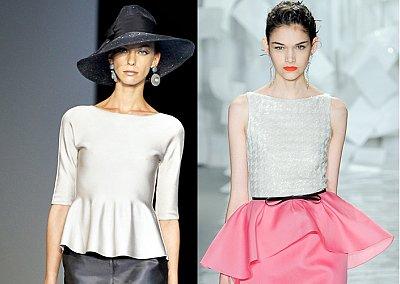 Баска - модный тренд сезона